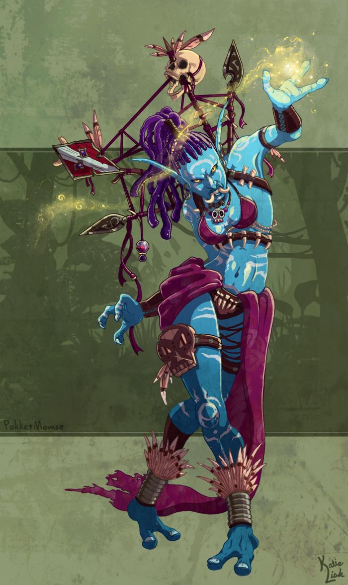 Voodoo Mistress by pokketmowse