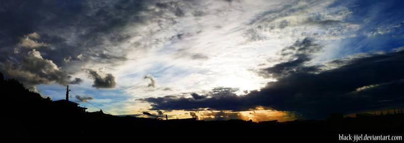 the sky from jijel 1