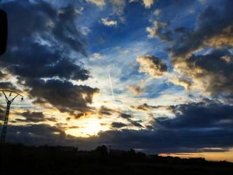 the sky from jijel 2