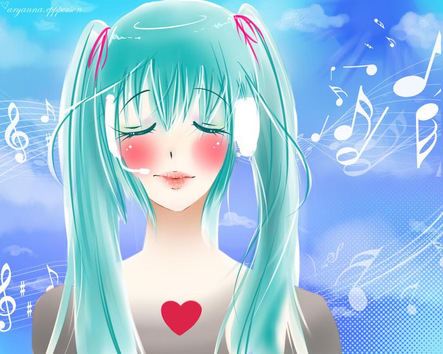 Hatsune Miku - Hear my Heart by missmustache