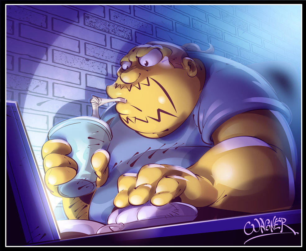 comic book guy by wagnerf