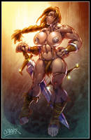 barbarian queen by wagnerf