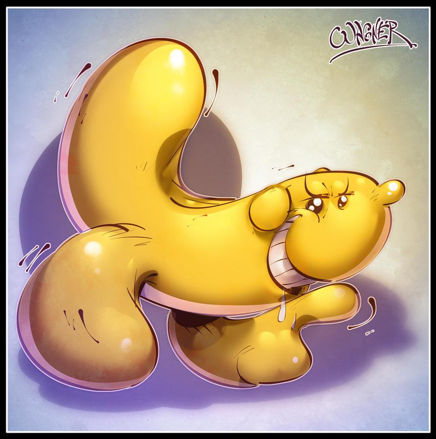 Hand Banana by wagnerf (Aqua Teen Hunger Force) | E - Aqua Teen ...