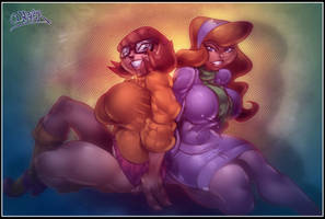 velma and daphne by wagnerf