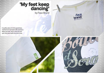 Faux Brand - My Feet Keep Dancing