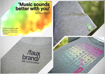 Faux Brand - Music Sounds Better With You
