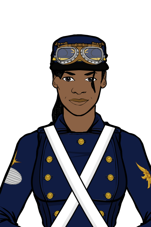 Airship Captain Headshot by SpecialWeaponsDalek