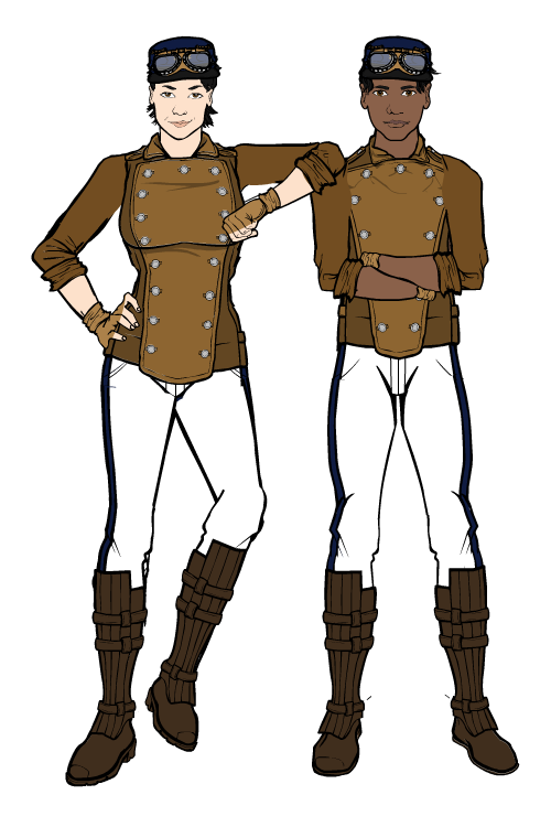 Airship Gunners by SpecialWeaponsDalek