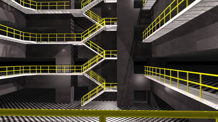 Underground Industrial Levels by EricDesignsUnlimited