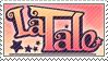 La Tale Stamp by Kow-Chan