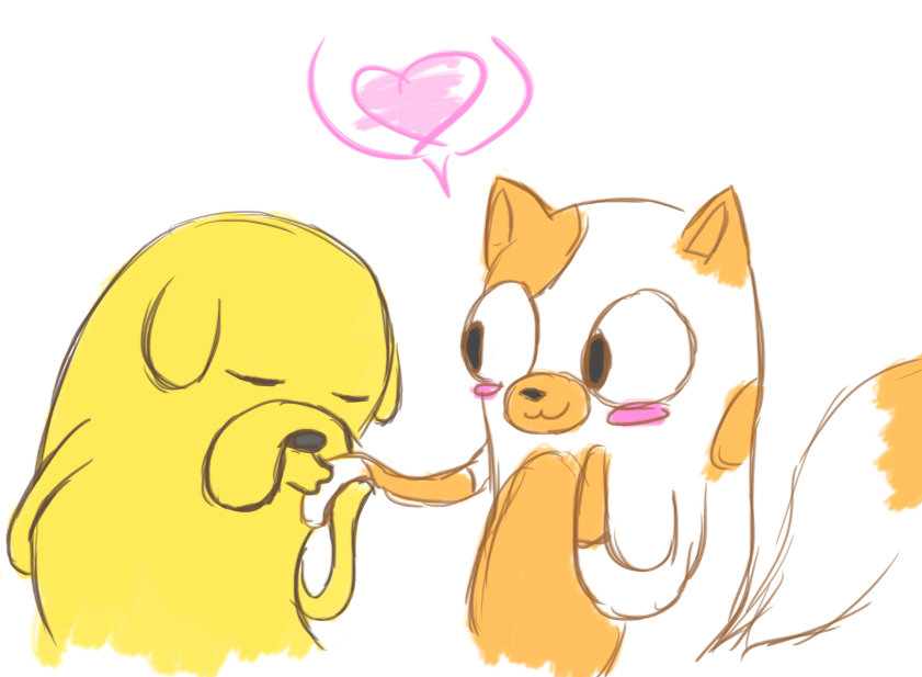 Cake and Jake by acpadilla