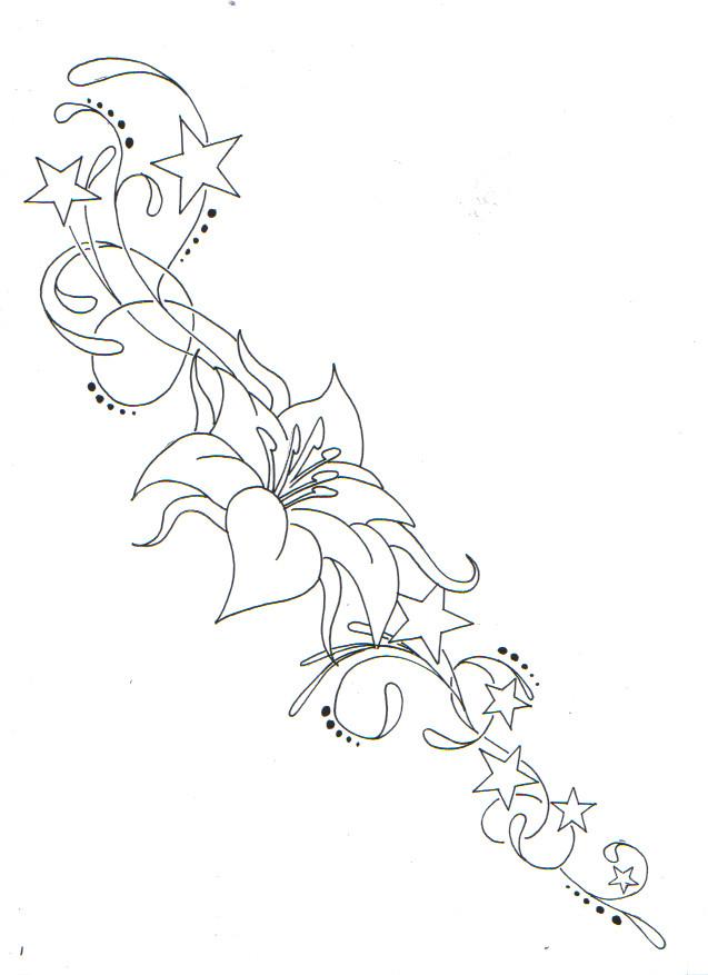flower tattoos for girls