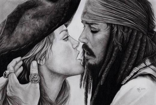 Jack Sparrow and Miss Swann