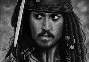 Jack Sparrow 's funny face