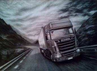 Truck Scania
