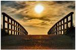 Sunny Bridge by ZevnovPhotography