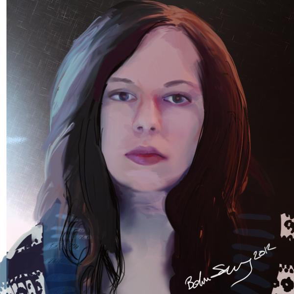 Self portrait by B0XFISH