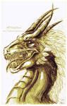 Dragon of gold
