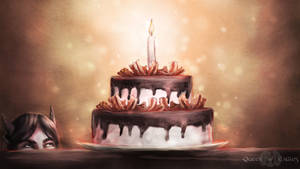 Gift - the amazing chocolate bacon cake of awesome