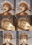 Faces of Khorrek