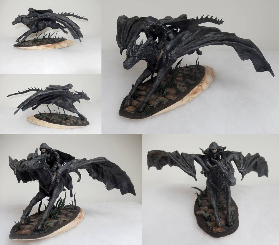 Nox and Orion sculpture