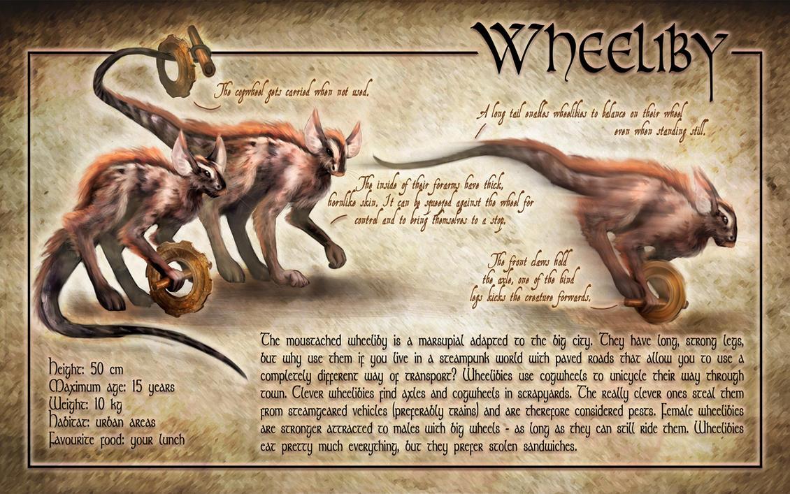 Contest entry - Wheeliby by queenofeagles