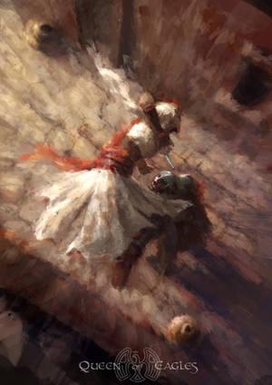 Gift - Assassin Jump Kill by queenofeagles
