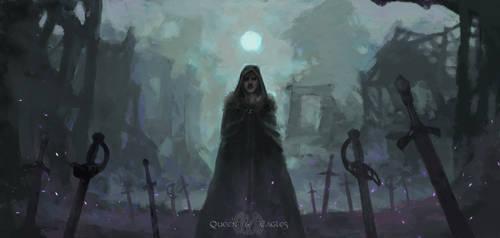 Gift - Beware, beware... by queenofeagles