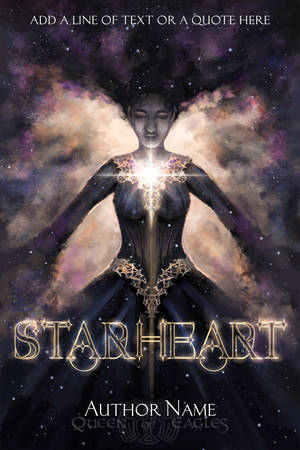 Starheart - premade book cover by queenofeagles