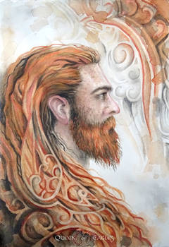 The Boyfriend In His Full Ginger Viking Glory
