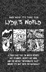 title page to lydia's world