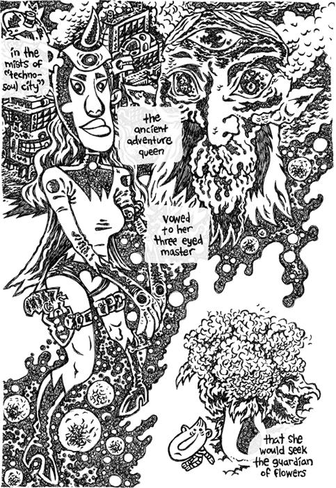 Druid Fluid page one by yowassup