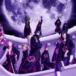 Akatsukis - Naruto V3 by MarxeDP