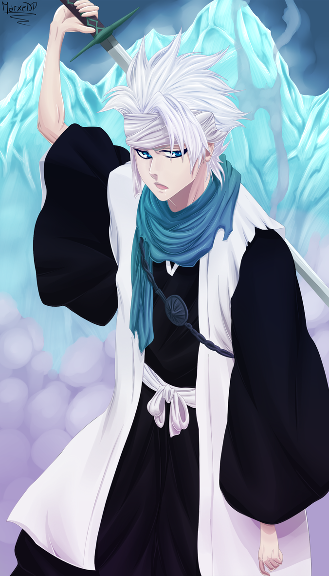 Marc D. Baster - White Fencer Toshiro_hitsugaya___ice_barrier_by_marxedp-d6mv525