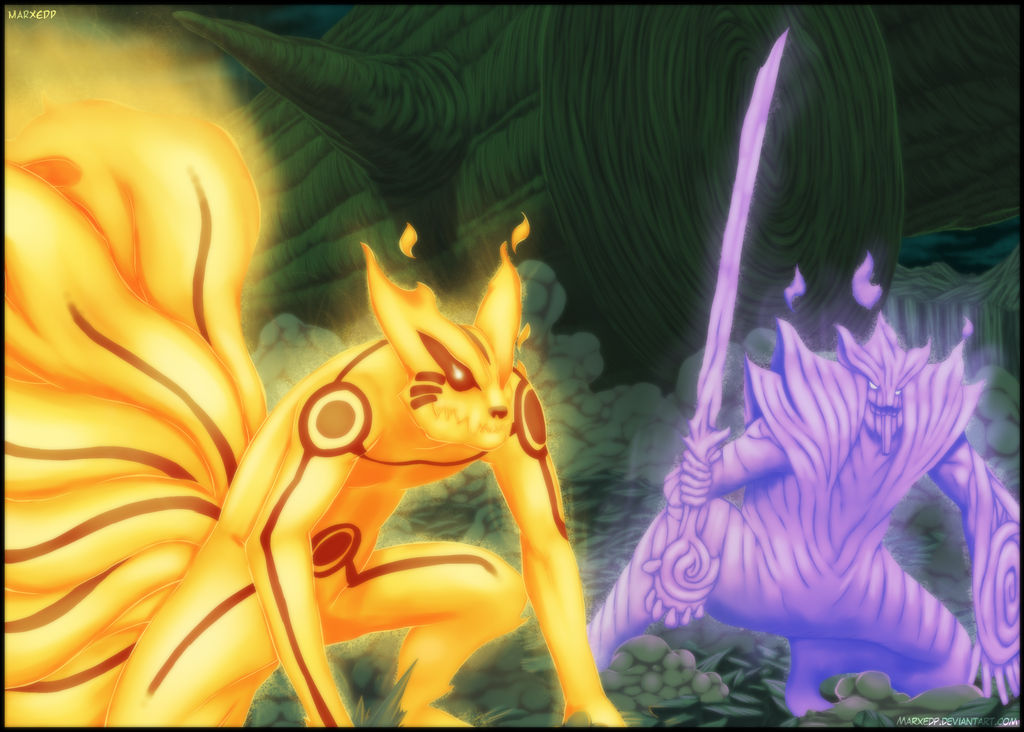Power combination - Naruto 648 by MarxeDP