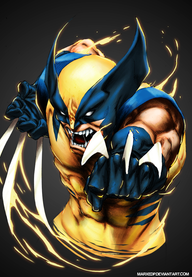 Wolverine marvel by marxedp on deviantart wolverine marvel by marxedp voltagebd Images