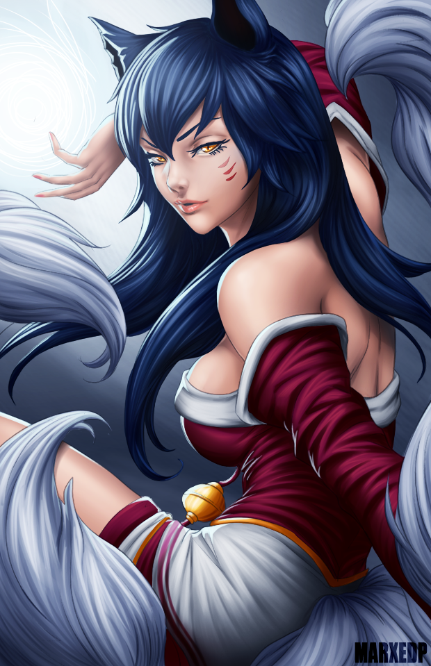 Ahri - League of Legends by MarxeDP