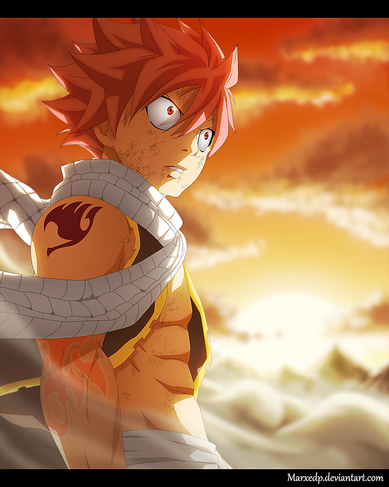 Fairy Tail 465 - Natsu Dragneel by MarxeDP