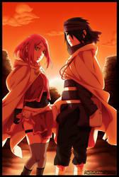 SasuSaku - Naruto by MarxeDP