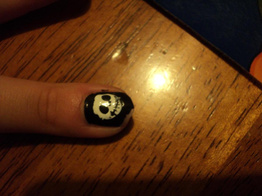 Jack Skeleton nails halloween 3 by Marilovett on DeviantArt