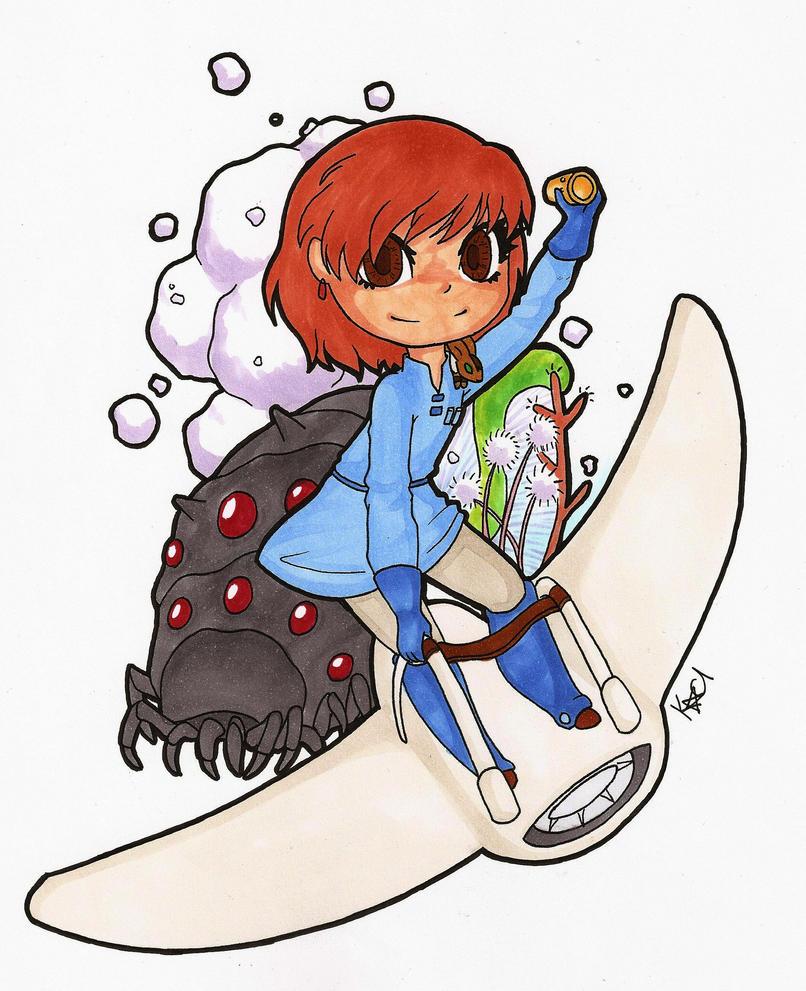 Nausicca sticker by Kaci-Star