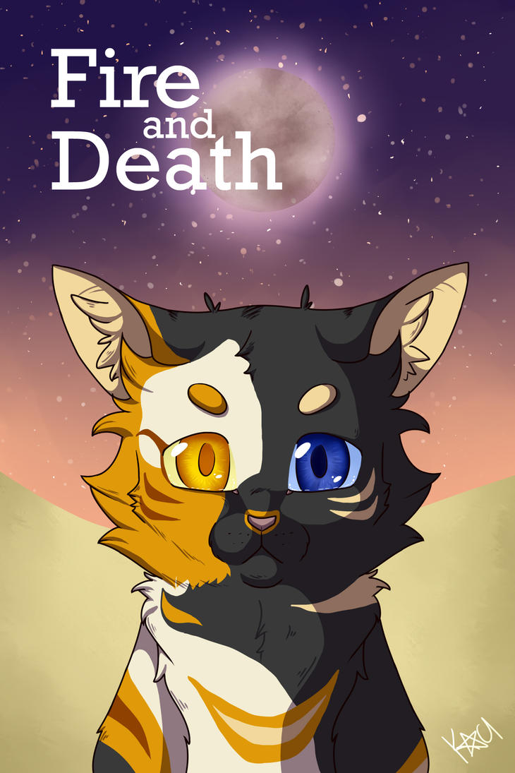 Fire and Death cover art by Kaci-Star
