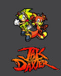 Jak and Daxter -sonic style-