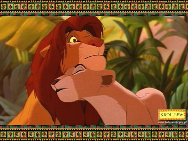 Simba x Nala Wallpaper by Simba-x-Nala-Club