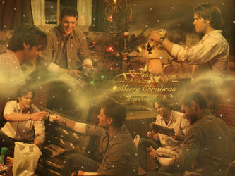 Merry Supernatural Christmas by Nadin7Angel