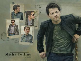 Misha Collins by Nadin7Angel