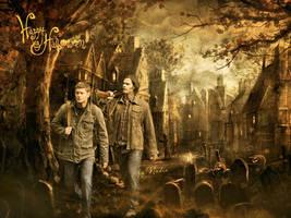 Happy Supernatural Halloween by Nadin7Angel