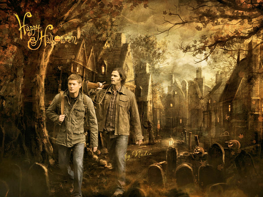 Happy Supernatural Halloween by Nadin7Angel