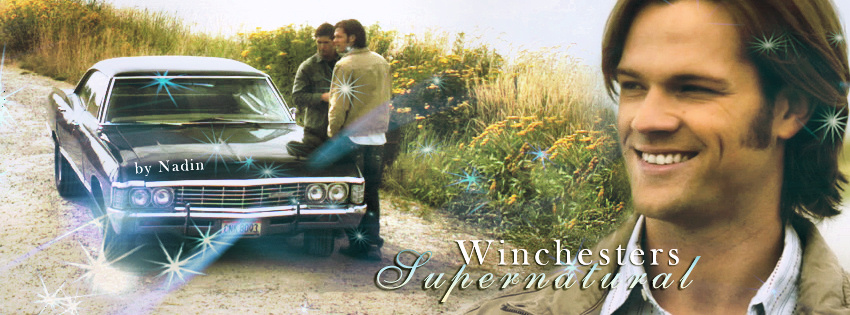 Sam Winchester (Banner for facebook) by Nadin7Angel