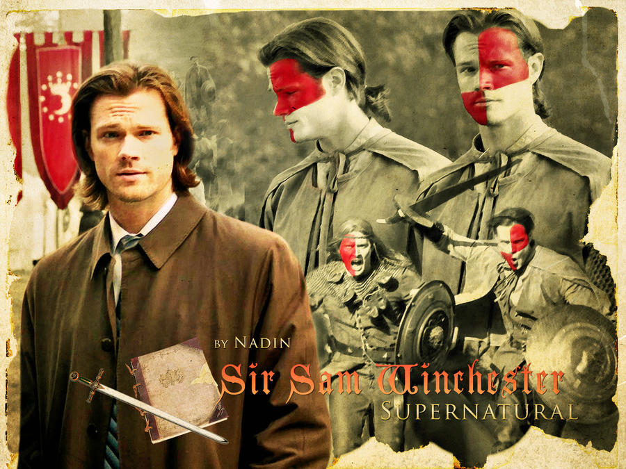 Sir Sam Winchester by Nadin7Angel